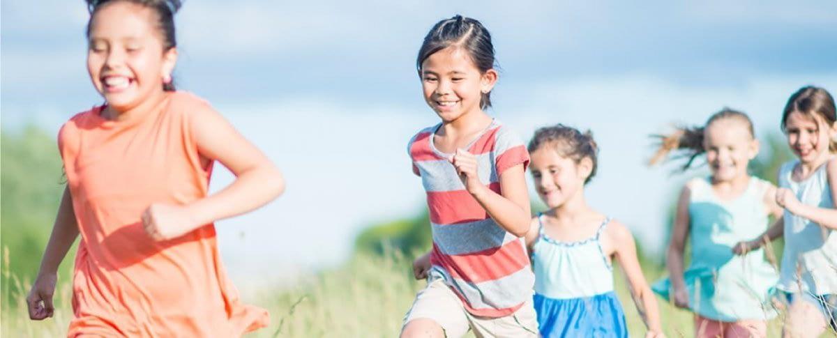 children enjoying clean air - styleseal air filter mask