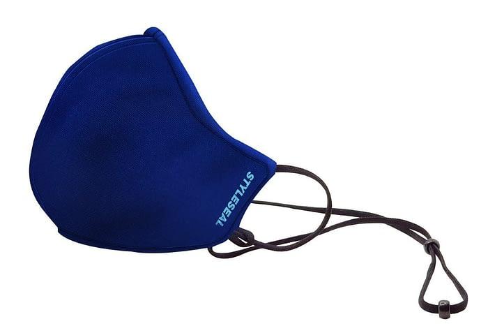 styleseal basic reusable face mask navy blue