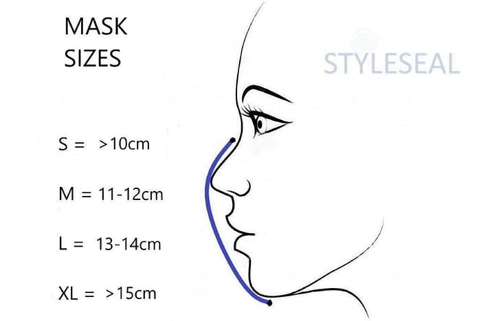 styleseal mask size guide