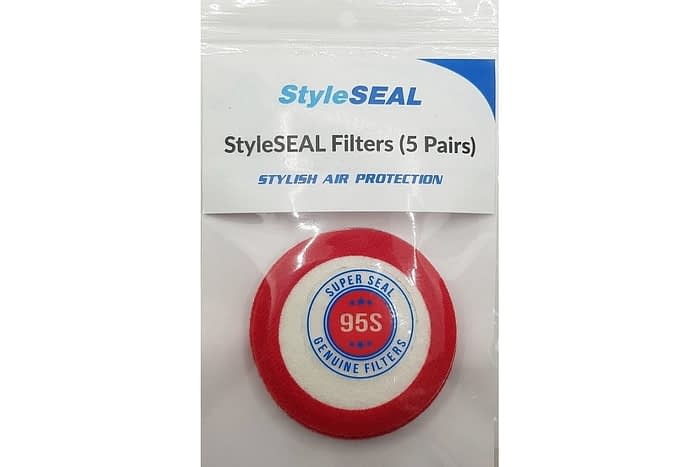 styleseal air mask filter pack 95s