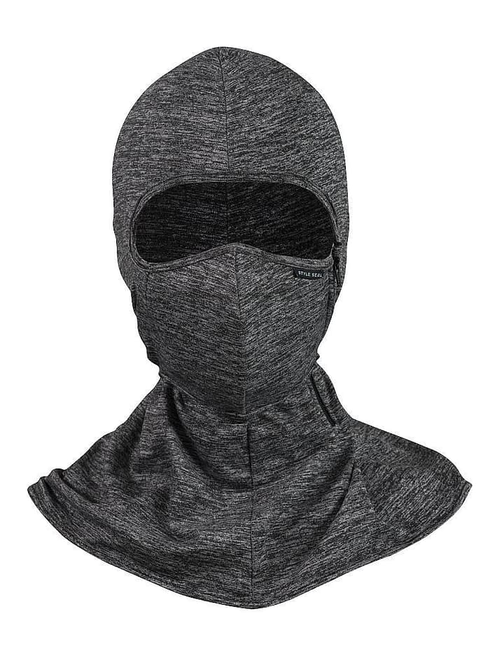 styleseal umbra uv air mask heather grey front view