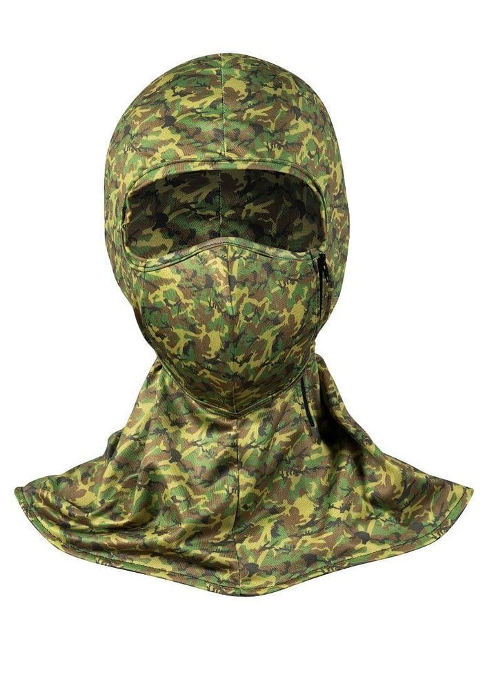 styleseal umbra uv air mask g.i. joe camo front view