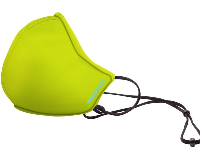 styleseal basic face mask - safety yellow