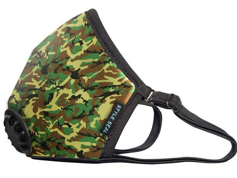 styleseal air mask g.i. joe camo
