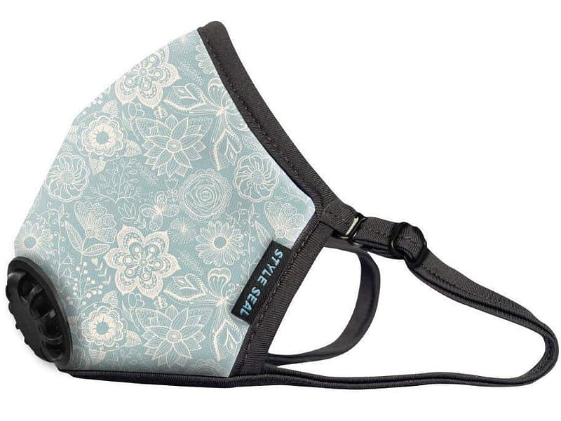 styleseal air mask flowers and butterflies