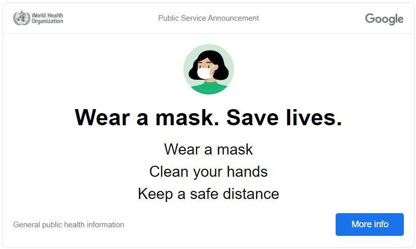 covid-19 policy wear a mask